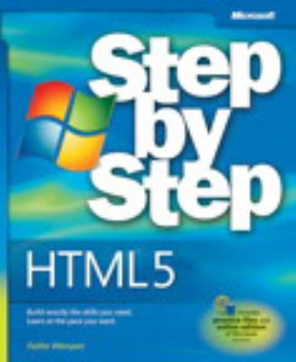 Book cover of HTML5: Step by Step