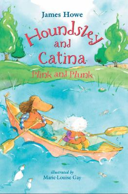 book cover of Houndsley and Catina Pink and Plunk
