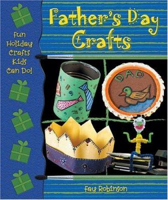 Book cover of Father's Day Crafts