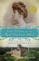 Book Cover of Lady Almaina and the real Downton Abbey