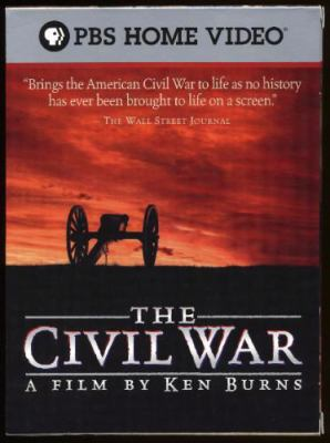 DVD cover of The Civil War