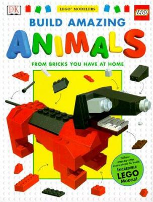 Book Cover: Build Amazing Animals