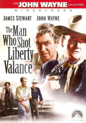 DVD cover of The Man Who Shot Liberty Valance