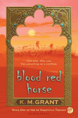 cover of Blood Red Horse by K.M. Grant