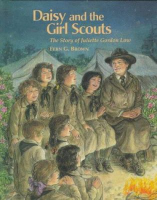 Book cover: Daisy and the Girl Scouts