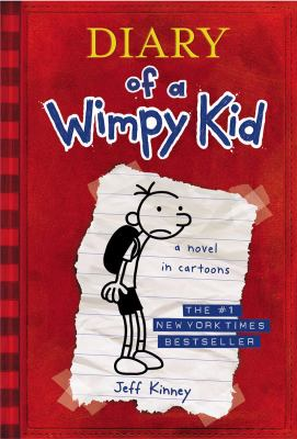 Book cover of Diary of a Wimpy Kid