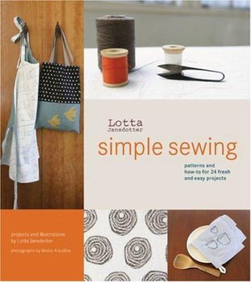 Book cover of Simple Sewing by Lotta Jansdotter