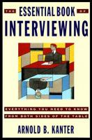 Cover image of The Essential Book of Interviewing