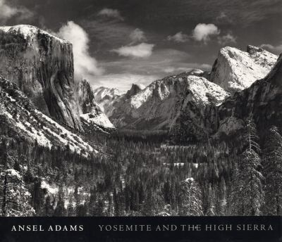 Book cover of Yosemite and the High Sierra