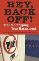 Hey, Back Off! book cover