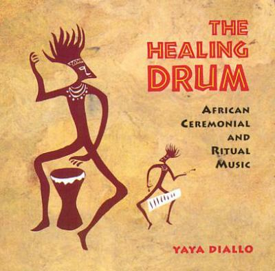 CD cover: The Healing Drum
