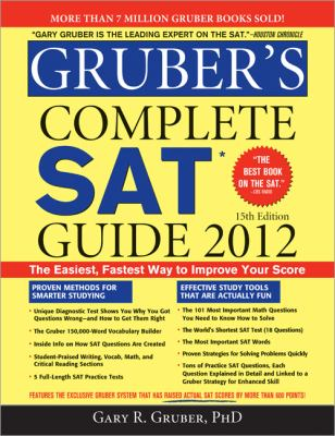 Cover of Gruber's Complete SAT Guide 2012
