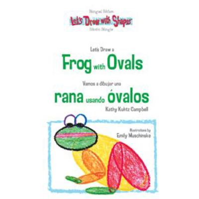 Book Cover: Let's Draw a Frog with Ovals