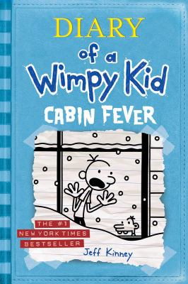 Book cover of Diary of a Wimpy Kid: Cabin Fever