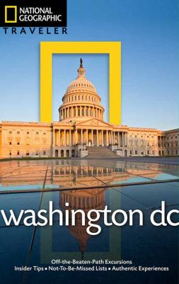 Book cover: National Geographic Traveler Washington DC