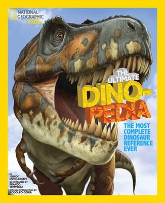 Book cover of  The Ultimate Dinopedia