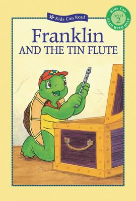 Book cover of Franklin and the Tin Flute
