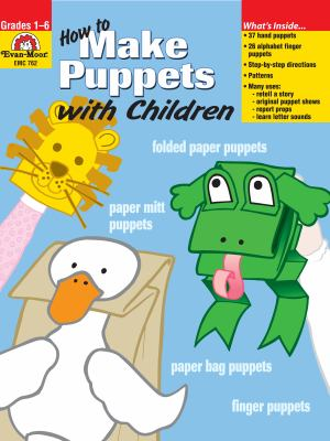 Book cover of How to Make Puppets with Children