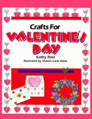 Book cover of Crafts for Valentine's Day