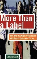 More Than a Label: Why What You Wear and Who You're With Doesn't Define Who You Are