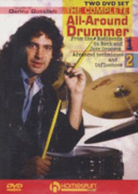 DVD cover: The Complete All-around Drummer