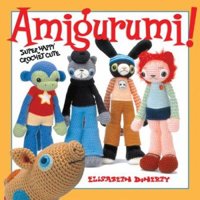 Book cover of Amigurumi!