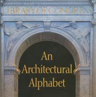 An Architectural Alphabet : Library of Congress