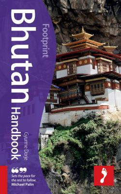 Book cover: Footprint Bhutan handbook