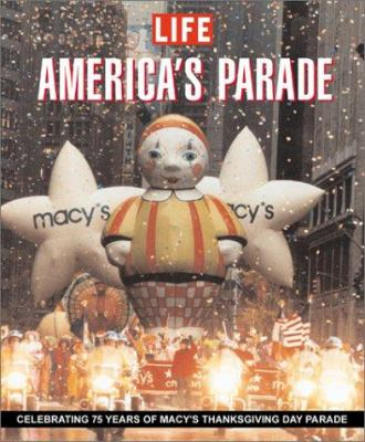 Book cover of America's Parade: A Celebration of Macy's Thanksgiving Day Parade 