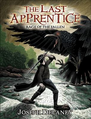 Book cover of The Last Apprentice:Rage of the Fallen