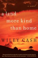 book cover: A land more kind than home