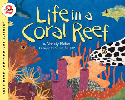 Book cover of Life in a Coral Reef