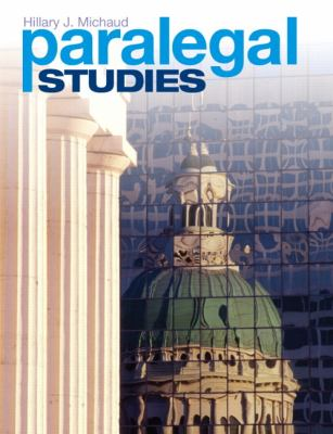 Paralegal Studies by Hillary J. Michaud.