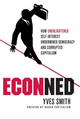 Cover of ECOnned by Yves Smith