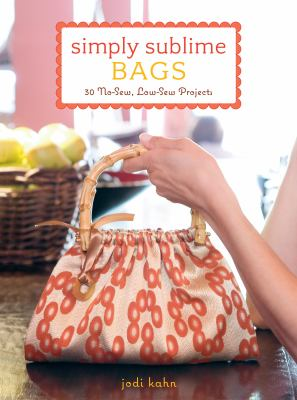 Book cover: Simply Sublime Bags