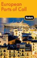 Book cover: Fodor's European Ports of Call
