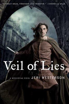 Cover Image of Veil of Lies by Jeri Westerson