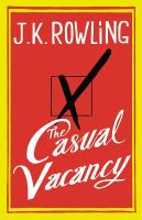 Casual Vacancy cover