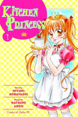 Book cover of Kitchen Princess volume 1