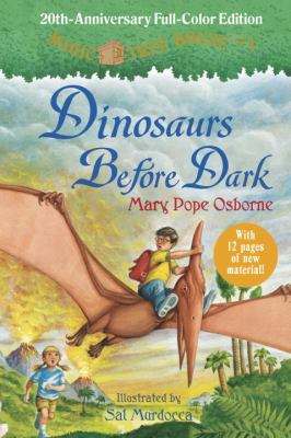 Dinosaurs before dark by Mary Pope Osborne, 1992
