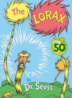 book cover of The Lorax by Dr. Seuss