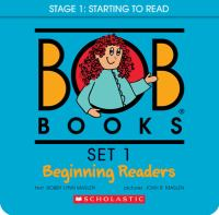 Bob Books:  Set 1, Beginning Readers