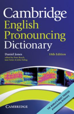 Book - Cambridge English Pronuncing Dictionary