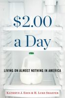 $2.00 a Day : Living on Almost Nothing in America