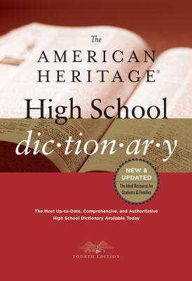 Cover of The American Heritage High School Dictionary