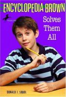 Cover of Encyclopedia Brown Solves Them All