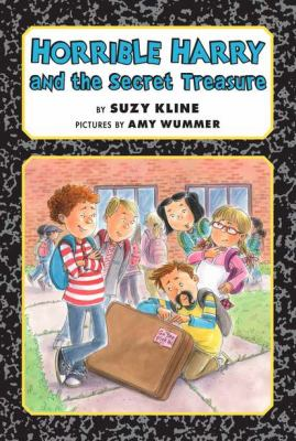 Cover of &quot;Horrible Harry and the Secret Treasure&quot;