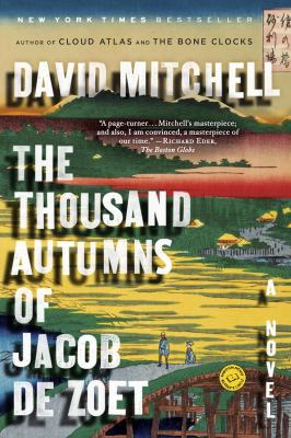 Book cover of The Thousand Autumns of Jacob De Zoet