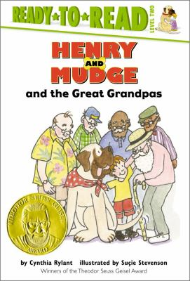 Book cover of Hendry and Mudge and the Great Grandpas