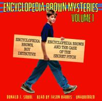 Cover of Encyclopedia Brown Mysteries Volume 1